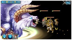 「少女とドラゴン」ゲーム内画像03